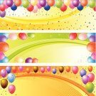 Birthday,Banner,Balloon,Party - Social Event,Happiness,Cheerful,Celebration,Backgrounds,Anniversary,Vector,Confetti,Frame,Greeting,Gift,Star Shape,Surprise,Decoration,Multi Colored,Fun,Event,Red,Ribbon,Blue,Pattern,Ilustration,Design,Helium,Yellow,Beautiful,Illustrations And Vector Art,Orange Color,New Year's,Holidays And Celebrations,Holiday,Vibrant Color,Bunch,Enjoyment,Vector Backgrounds,Pink Color,Copy Space,Flying