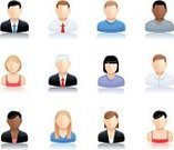 user,Computer Icon,People,Businessman,Human Face,Women,Real People,Men,Vector,One Person,Set,Blond Hair,Vector Icons,Business People,Business,Illustrations And Vector Art,People