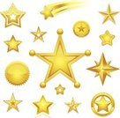 Star - Space,Star Shape,Gold Colored,Gold,Symbol,Star Trail,Seal - Stamp,Success,Christmas,Winning,Computer Icon,Rank,Yellow,Circle,Shiny,Space,Compass,Decoration,Christmas Decoration,Spirituality,Set,Bright,Religion,Vector Icons,Christianity,Isolated Objects,Vector Ornaments,Glowing,Illustrations And Vector Art,Collection,Christmas Ornament,Isolated