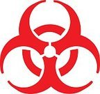 Biohazard Symbol,Symbol,Virus,Danger,Toxic Waste,Biochemical Weapon,Radiation,Chemical,Garbage,War,Poisonous Organism,Vector,Warning Sign,Isolated,Science,Sign,Circle,Communication,Technology,Red,Evil,Death,Safety,Environment,Warning Symbol,Risk,Pollution,Computer Graphic,Digitally Generated Image,Protection,Security,graphic element,Curve,Design Element,Color Image,No People,Energy,White Background,Ilustration