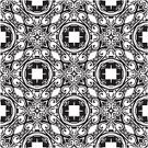 Pattern,Tile,Vector,Old-fashioned,Circle,Wallpaper,Retro Revival,Backgrounds,filigree,Single Line,Black Color,Flower,Cross Shape,Infinity,Illustration Technique,Repetition,Intricacy,Arts And Entertainment,Monochrome,Textured Effect,Flower Head,Abstract,Vector Ornaments,Elegance,Decoration,Star Shape,Arts Abstract,Plant,Ilustration,Design,Macro,Beautiful,Ornate,Spotted,Vector Backgrounds,Illustrations And Vector Art