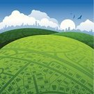 Community,City,Cloud - Sky,House,Green Color,Residential District,Cloudscape,Town,Urban Scene,Built Structure,Backgrounds,Sun,Vector,Residential Structure,Urban Skyline,Silhouette,Growth,Building Exterior,Outline,Housing Development,Cityscape,Suburb,Sunlight,Development,Real Estate,Day,Rolling Landscape,Ilustration,Blue,Map,Cartography,Color Image,Square,Street,Road,City Background,Driving,Copy Space,No People