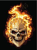 Human Skull,Flame,Fire - Natural Phenomenon,Tattoo,Rock and Roll,Human Skeleton,Vector,Evil,Horror,People,Halloween,Burning,Symbol,Spooky,Human Face,Ghost,Human Bone,Design,Computer Graphic,Black Color,Death,Hell,Clip Art,Terrified,Dead Person,Heat - Temperature,Isolated,Ilustration,Art,Fear,Danger,Light - Natural Phenomenon,Shock,Style,Black Background,Painted Image,Isolated On Black,Halloween,Holidays And Celebrations,Rough,Glowing,Illustrations And Vector Art