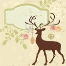 Christmas,Reindeer,Deer,Retro Revival,Old-fashioned,Christmas Card,Vector,Holiday,Ilustration,Silhouette,Computer Icon,Antler,Winter,Pattern,Christmas Tree,Decoration,Backgrounds,Animal,Season,Greeting,Snow,Star - Space,Abstract,Cartoon,Celebration,Snowflake,Illustrations And Vector Art,Design,Holiday Backgrounds,Holidays And Celebrations