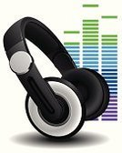 Headphones,Sound,Symbol,Audio Equipment,Music,Sound Mixer,Single Object,Sign,Computer Icon,Electrical Equipment,MP3 Player,White Background,Ilustration,Stereo,Listening,White,Vector,Sound Wave,Isolated,Audio Electronics,Black Color,Technology,Vector Icons,Isolated On White,Technology,Illustrations And Vector Art,Electronics,Design Element