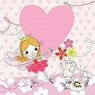 Child,Birthday,Teenage Girls,Party - Social Event,Invitation,Ballet Dancer,Frame,Heart Shape,Cute,Backgrounds,Pink Color,Drawing - Art Product,Pattern,Happiness,Cheerful,Greeting Card,Ilustration,Label,Crown,Symbol,Sign,Vector,Elf,Valentine Card,Sparse,Love Note,Placard,Aspirations,Indoors,Banner,Showing,Clip Art,Valentine's Day - Holiday,Vase,Romance,Telephone,Excitement,Playful,Elegance,Holding,Dating,Design,Artificial Wing,Ideas,Grace,Vector Backgrounds,Holidays And Celebrations,Flirting,Copy Space,Paper Streamer,Smiling,February,Joy,Celebration,Holiday Symbols,Concepts,Message,Valentine's Day,Loving,Illustrations And Vector Art,Empty