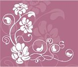 Flower,Rose - Flower,Floral Pattern,Vector,Growth,Outline,Femininity,Springtime,Stem,Backgrounds,Decoration,Frame,Fragility,Leaf,Angle,Computer Graphic,Fashion,Digitally Generated Image,Style,Plant,Drawing - Art Product,Ilustration,No People,Swirl,Beauty In Nature,Elegance,accent,Ornate,Curve,Concepts And Ideas,Creativity,Nature,Color Image,Nature,Time,Flowers,Curled Up,Design