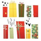 Birthday,Christmas,Icon Set,Gift,Isolated,Design Element,Holiday,Vector,Illustrations And Vector Art,Holidays And Celebrations,Isolated Objects,Isolated On White,Multi Colored,Celebration,Ilustration,Cartoon