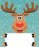 Reindeer,Rudolph The Red-nosed Reindeer,Antler,Christmas,Deer,Holding,Cartoon,Animal,Characters,Greeting Card,Blue,Cute,Snowing,Art,Christmas,Smiling,New Year's,Computer Graphic,Sky,Year,Happiness,Holidays And Celebrations,Ilustration,Humor,Vector,Paper,Blank,Copy Space,Holiday,Snow,Season,Animals And Pets,Brown,Colors,Red,Winter,Star Shape,Mammals,Animal Nose,Drawing - Art Product,Celebration,White