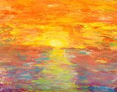 Painted Image,Paintings,Abstract,Art,Paint,Sun,Backgrounds,Oil Painting,Multi Colored,Textured,Sunlight,Colors,Sea,Orange Color,Sky,Spotted,Art Product,Dirty,Yellow,Color Image,Pattern,Red,Grunge,White Background,Contrasts,Image,Reflection,Brushed,Arts And Entertainment,Ilustration,Copy Space,Arts Abstract,Creativity,Arts Backgrounds