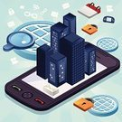 Mobile Phone,Security,Telephone,Isometric,Internet,Building Exterior,City,Town,Urban Scene,Privacy,Silhouette,Design,Digitally Generated Image,E-Mail,Skyscraper,Icon Set,Back Lit,Ilustration,Pattern,Computer Icon,Vector,Isolated,Mail,High Angle View,Above,Lock,Outline,Human Settlement,Design Element,Computer Graphic,Technology,Clip Art,Shape,Envelope