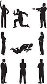 Silhouette,Men,Success,Pointing,Rear View,Women,Business,Falling,Teaching,Showing,Side View,Standing,Tripping,Businesswoman,Businessman,Sitting,Two People,Communication,Suit,Black Color,Direction,Achievement,Outline,Arms Crossed,Arms Raised,Hand On Hip,Multiple Image,Isolated,White Background,Isolated On White,Vector,Business Person,Thumbs Up,Excitement,Gesturing,Ilustration,Clip Art,Planning,Formalwear,Vector Graphics,Front View,Computer Graphic,Digitally Generated Image,Black And White