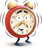 Clock,Alarm Clock,Cartoon,Time,Waking up,Urgency,Characters,Morning,Ilustration,Alertness,Vector,Beat The Clock,Isolated On White,Time Of Day