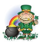 Leprechaun,Pot Of Gold,Gold,Good Luck Charm,Midget,St. Patrick's Day,Fairy Tale,Republic of Ireland,Clover,Four Leaf Clover,Short Stature,Characters,Cultures,Irish Culture,Wealth,Fantasy,Playful,Coin,Pipe,Redhead,Smiling,Babies And Children,Lucky Coin,Lifestyle,Treasure,Celtic Culture,elusive,luck of the irish,Freckle,Curly Hair,March,gold coin,Magic,Isolated On White,Folk Lore,Illustrations And Vector Art,Costume,Rainbow,Mythology,Holidays And Celebrations,Clover Leaf Shape,Holiday,Happiness,Luck,Cartoon