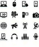 Symbol,Computer Icon,Technology,Icon Set,Electrical Equipment,Broadcasting,Digital Tablet,PC,Camera - Photographic Equipment,Electronics Industry,Globe - Man Made Object,Computer,Laptop,E-reader,The Media,Modern,Mobile Phone,Internet,Information Medium,Speaker,On The Move,Television Set,Bluetooth,Music,Digital Camera,Video Game,Home Video Camera,Cable TV,Mobility,High-definition Television,Smart Phone,Communication,Stereo,Black And White,Computer Monitor,Wired,Touch Screen,Hands-free Device,Planet - Space,3dtv,Visual Screen,DVD Player,Interactive Television,Surround Sound,Global Communications,Nanotechnology,Television Receiver,Wireless Technology,Consumer Electronics,Computer Speaker,MP3 Player,Portable Television,Sphere