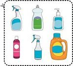 Shampoo,Cleaning,Dishwashing Liquid,Spray Bottle,Laundry Detergent,Washing Dishes,Retail,Facial Cleanser,Soap Dispenser,necessities,Scissors,Cutting,Domestic Life,Cheap,Recession,Vector Icons,Household Objects/Equipment,Consumerism,Objects/Equipment,Illustrations And Vector Art,Concepts And Ideas,Generic