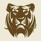 Tiger,Tattoo,Wildcat,Sign,Animal,Symbol,Vector,Illustrations And Vector Art,Nature,Animals And Pets,Mammal,Nature,Wildlife