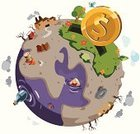 Earth,Globe - Man Made Object,philanthropy,Donation Box,Pollution,Poverty,Currency,Charity and Relief Work,Help,Environmentalist,Natural Disaster,Dirt,Environment,Concepts,Recycling,Chaos,Rudeness,Energy,Recovery,Vector,Demolished,Global Warming,Nature,Dollar Sign,Despair,Plant,Love,Dirty,Coin,Damaged,Messy,Environmental Conservation,Nature,Illustrations And Vector Art,Ilustration,Healthy Lifestyle,Environmental Damage