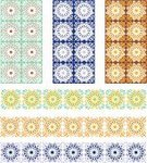 Tile,Spanish Culture,Tiled Floor,Spain,Marrakech,Morocco,Moroccan Culture,Seamless,Alhambra,Mosaic,Flower,Andalusia,Moorish,Arabic Style,Decoration,Ceramic,Islam,Decor,Cultures,Floral Pattern,Daisy,Clip Art,Set,Wall Tile,Ceramics,repeating pattern,Victorian Style,vector illustration,seamless pattern