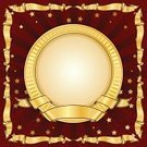 Circle,Picture Frame,Gold Colored,Placard,Old-fashioned,Retro Revival,Ribbon,Design,Classic,Illustrations And Vector Art,Simplicity,Classical Style,Arts Abstract,Arts And Entertainment,Decoration,Shiny,Swirl,Vector Backgrounds,Floral Pattern,Vector Cartoons,Ornate,Style,Vector,Elegance,Computer Graphic,Bow,Scroll Shape,Luxury