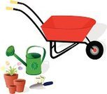 Wheelbarrow,Gardening,Seed,Seed Packet,Planting,Flower,Clip Art,Watering Can,Flower Pot,Flower Bed,Packet,Watering,Potted Plant,Plant,Shovel,Ilustration,Tulip,Water,Trowel,Can,Cultivated,Vector,Season,Growth,Gardening Supplies,Sprinkling Can,Nature,Garden Supplies,Concepts And Ideas,Time,Gardens,Spring,Group of Objects,Springtime