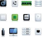 Symbol,Network Server,CPU,Computer Chip,Computer,Computer Icon,Switch,Computer Network,Network Connection Plug,Electrical Component,Downloading,Disk,Connection,Vector Icons,Electronics,Technology,Set,Power Supply,Illustrations And Vector Art,Computers