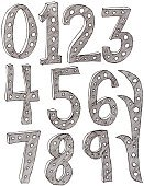 Number,Doodle,Ornate,Drawing - Art Product,Number 5,Number 3,Number 7,Number 2,Number 4,Number 9,Number 1,Number 6,Black Color,Concepts And Ideas,Illustrations And Vector Art,hand drawn,Zero,Number 8,Ilustration,White