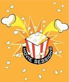 Popcorn,Film Industry,Movie,Emergence,Ilustration,Road Construction,Image,Part Of,Video,Cross Section,Illustrations And Vector Art,Recreational Pursuit,Entertainment,Heat - Temperature