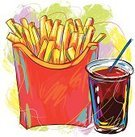 French Fries,Food,Fast Food French Fries,Snack,Breakfast,Drink,Vector,Paint,Healthy Eating,Painterly Effect,Colors,Design Element,Grunge,Composition,Illustrations And Vector Art,Vector Backgrounds,Paintings,Refreshment,Freshness,Creativity,Square,Sketch,Ilustration,Cola,Food Backgrounds,Painted Image,Brush Stroke,Junk Food/Fast Food,Food And Drink,hand drawn,Drawing - Art Product,Art