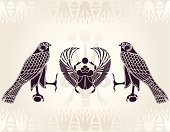 Egypt,Egyptian Culture,Scarab Beetle,Beetle,Horus,Wing,Bird,Symbol,Painted Image,Indigenous Culture,African Culture,Sign,Stencil,Pattern,Insect,Design,Computer Graphic,Silhouette,Feather,Spirituality,Vector,Cultures,Ilustration,Arts And Entertainment,Visual Art,Shape,Vector Cartoons,Animals And Pets,Birds,Religion,African Tribal Culture,Illustrations And Vector Art,Decoration,Mythology