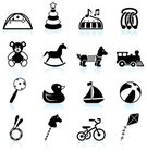 Kite - Toy,Teddy Bear,Tricycle,Train,Symbol,Toy Rattle,Beach Ball,Computer Icon,Icon Set,Miniature Train,Sparse,Ilustration,Rubber Duck,Jump Rope,Simplicity,Jumping Rope,Black And White,Piano,White Background,Shadow,Play Mat,Empty,Horsie