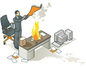 Smoke - Physical Structure,Isometric,Office Interior,Fire - Natural Phenomenon,Smoke Signal,Desk,Communication,Computer,Vector,Paperwork,Office Worker,Ilustration,Communication,Illustrations And Vector Art,Message,Clip Art,Concepts And Ideas