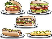 Sandwich,Submarine Sandwich,Hamburger,Cartoon,Heroes,Corn Dog,Clip Art,Food,Hot Dog,Turkey,Plate,Ham,Vector,Eating,Unhealthy Eating,Salami,Tomato,Drawing - Art Product,Cold Cuts,Mustard,Take Out Food,Illustrations And Vector Art,Cheese,Onion,Lettuce,Junk Food/Fast Food,Food And Drink,Cheddar - Cheese,Baloney,Swiss Cheese,Ilustration,Beef,Snack
