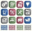 Symbol,Industry,Computer Icon,Icon Set,Oil,Gas,Fuel and Power Generation,Energy,Work Tool,Interface Icons,Construction Industry,Gear,Transportation,Technology,Oil Industry,Light Bulb,Solar Energy,Green Color,Collection,Vector,Industrial Ship,Set,Oil Pump,Concepts,Storage Tank,Blue,Gray,Factory,Power Station,Wind Power,Red,Crane - Construction Machinery,Ilustration,Alternative Energy,Faucet,Clip Art,Wind Turbine,Heavy Industry,Industrial Objects/Equipment,Solar Battery,Industry,Objects/Equipment,Illustrations And Vector Art,Vector Icons,Group of Objects,Electric Lamp,Design Element