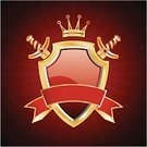 Shield,Sword,Badge,Coat Of Arms,Gold,Nobility,Gold Colored,Weapon,Red,Human Arm,Arm,Insignia,Medieval,Sign,Chrome,Copy Space,Illustrations And Vector Art,Arts And Entertainment,Symbol,Decoration,Shape,template,Vector,Concepts And Ideas,Frame,Picture Frame,wine red,Metallic,Ribbon,Ilustration,Backgrounds,Ribbon