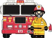 Firefighter,Fire Engine,Cartoon,Truck,Fire Station,Badge,Cool,Emergency Services,Vector,Yellow,Men,Occupation,One Person,Smiling,Modern,Boot,Transportation,Mode of Transport,Cute,Work Helmet,Blue Eyes,Emergency Services Occupation,Illustrations And Vector Art,Emergency Services Vehicle,Characters,Arson,Heroes,Lace,Ilustration,Standing,Pants,Red,Jacket,People,Van - Vehicle,Axe,Protective Mask - Workwear,Uniform,Clip Art,Transportation,Teenage Boys,Ventilator,Protective Glove,Vector Cartoons
