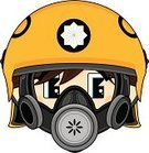 Work Helmet,Firefighter,Emergency Services,Human Face,Badge,Fire Station,Cool,Smiling,Cute,Cartoon,Clip Art,People,Smoke Jumper,Occupation,Modern,Yellow,Vector,Uniform,Illustrations And Vector Art,Vector Cartoons,Heroes,Characters,Men,Teenage Boys,Emergency Services Occupation,Ilustration