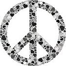 Symbols Of Peace,Hippie,Love,Peace Symbol,Heart Shape,Symbol,Cool,Peace On Earth,Computer Icon,Floral Pattern,Valentine's Day - Holiday,Isolated,Feelings And Emotions,Valentine's Day,Holidays And Celebrations,Concepts And Ideas,Black Color,Olive Tree,Illustrations And Vector Art