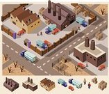 Isometric,Factory,City,Built Structure,Map,Industry,Warehouse,Urban Scene,Building Exterior,Road,Cartography,Plan,Car,Construction Industry,Community,Manual Worker,Traffic,Vector,World Map,Pollution,Land Vehicle,Engineering,Transportation,Business,Mode of Transport,Dirt,Set,Technology,Street,Neighbor,Architect,Environment,Machinery,Leading,Direction,Land,Tree,Writing,Architecture,Illustrations And Vector Art,Architecture And Buildings