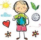 Child,Globe - Man Made Object,Earth,Human Hand,Sun,Care,Heart Shape,Planet - Space,Green Color,Baby,Environment,Trust,Ilustration,Land,Protection,Flower,Ideas,Holding,Concepts,Cloud - Sky,Responsibility,Moon,Vector,Simplicity,Design Element,Innocence,Touching,Sphere,Smiling,Global Business,Curlers,White Background,Purity,Lifestyle,Leaf,World In Hands,Concepts And Ideas,Babies And Children,Nature,Neat,Nature Symbols/Metaphors