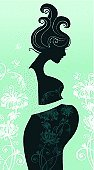Human Pregnancy,Silhouette,Women,Profile View,Mother,Vector,People,Happiness,Little Girls,Human Hair,Human Abdomen,Female,Beauty In Nature,Healthy Lifestyle,Beautiful,Flower,Nature,Human Hand,Ilustration,Care,The Human Body,New Life,One Person,People,Parent,Waiting,Lifestyles,Beauty And Health,Painted Image,Hope,Young Adult,Illustrations And Vector Art