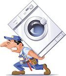 Repairing,Appliance,Washing Machine,Machinery,Plumber,Relocation,Cartoon,Laundry,Manual Worker,Delivering,Repairman,Men,Mechanic,Working,Vector,Humor,Service,Home Improvement,Characters,Comic Book,Occupation,Work Tool,Muscular Build,Ilustration,Effort,Bib Overalls,Carrying,Transportation,Clip Art,Pipefitter,Recovery,Adjustable Wrench,Coveralls,Sweat,Illustrations And Vector Art,People,Service Occupation,Isolated On White,Strength,Transportation