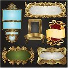 Frame,Picture Frame,Gold,Gold Colored,Banner,Ribbon,Flower,Antique,Floral Pattern,Ribbon,Retro Revival,Ornate,Old-fashioned,Nobility,Label,Metal,Baroque Style,Rococo Style,New,Backgrounds,Knick Knack,Placard,Vector,Badge,Scroll,Deco,Metallic,Luxury,Sign,Design,Art,Packaging,heraldic,Scroll Shape,Pattern,Wealth,Decoration,Swirl,Set,Scroll,Vector Backgrounds,Ilustration,Illustrations And Vector Art,Vector Ornaments,Backdrop,Black Color,Focus On Background,Shiny,Design Element
