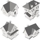 House,Three-dimensional Shape,Built Structure,Roof,Aerial View,Symbol,Community,Building Exterior,Residential Structure,Cartoon,Black And White,Diminishing Perspective,Real Estate,High Angle View,Mansion,Collection,Digitally Generated Image,Ilustration,Set,Clip Art,Computer Graphic,Window,Vector,isolated object,American Home,Illustrations And Vector Art,Architecture,Architecture And Buildings,Isolated Objects,Homes,No People