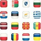 Flag,Square Shape,Square,countries,Croatia,Button,Keypad,Push Button,Interface Icons,Europe,Poland,Estonia,Cyprus,Ukraine,Icon Set,Serbia,International Landmark,Bubble,Greece,Romanian Flag,Glass - Material,Famous Place,Montenegro,Greek Flag,Romania,Latvia,nation,Albania,Croatian Flag,Belarus,Bulgaria,Republic Of Macedonia,Ukrainian Flag,Bosnia and Hercegovina,Bulgarian Flag,Albanian Flag,Montenegrian Flag,Cyprusian Flag,History,Medallion,Label,Global Communications,Patriotism,Travel Locations,Belarusian Flag,Shiny,Macedonia,Macedonian Polish Flag,Lithuania,Allegory Painting,Bosnia-herzegovinian Flag,Travel,Holidays And Celebrations,Serbiain Flag,Plastic