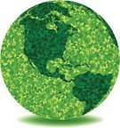 Earth,Green Color,Day,Globe - Man Made Object,Environment,Earth Day,Nature,Planet - Space,Environmental Conservation,Leaf,Abstract,Sphere,Isolated,Concepts,Ideas,Silhouette,Reforestation,Cartography,Environmentalist,No People,Environmental Clipart