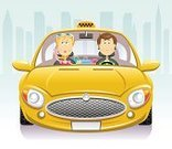 Taxi,Car,Driver,Driving,Cartoon,Front View,Women,Teenage Girls,Passenger,Men,Yellow,Mobile Phone,Ilustration,City,Vector,Taxi Driver,Shopping,Telephone,New,Yellow Taxi,On The Phone,Cityscape,Sunglasses,Reliability,Confidence,Steering Wheel,Shopaholic,Safety,Sign,Blond Hair,Skyscraper,Male,Security,Tinted Sunglasses,Smiling,Taxi Sign,Information Sign,Shiny,Urban Scene,Cute,Female,Modern,Pink Color,Control