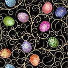 Easter,Pattern,Seamless,Eggs,Scroll Shape,Effortless,Symbol,Orthodox,Black Color,Backgrounds,Textured Effect,Religion,Blue,Easter,Wallpaper Pattern,Holidays And Celebrations,Red,Decoration,Vibrant Color,Yellow,Ornate,Illustrations And Vector Art,Vector Ornaments,Holiday,Textile,Vector Backgrounds,Green Color,Ilustration,Pink Color,Cultures