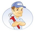 Plumber,Repairman,Manual Worker,Work Tool,Men,Maintenance Engineer,Mechanic,Vector,Wrench,Expertise,Ilustration,Professional Occupation,Working Class,Male,Looking At Camera
