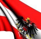 Austrian Flag,Austria,Flag,Three-dimensional Shape,render,Waving,Europe,Illustrations And Vector Art,Close-up,Ilustration,Central Europe,Western Europe